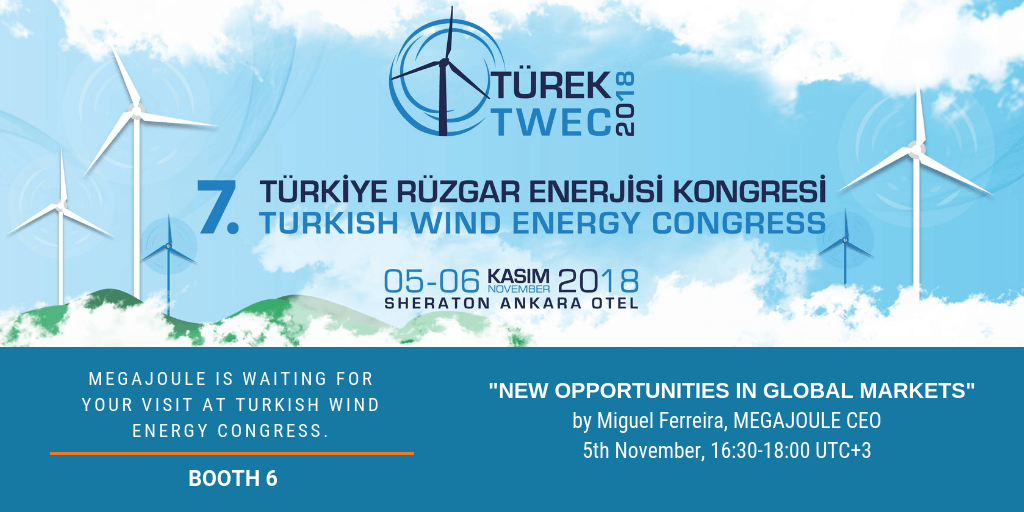 Turkish wind energy congress 2018.
